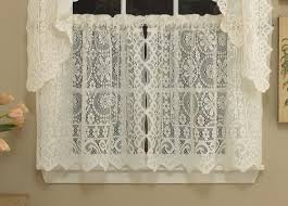 sweet home collection old world style floral heavy lace kitchen