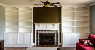 built in cabinets around fireplace built ins around fireplace