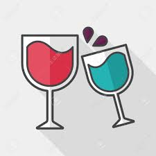 martini glasses clipart martini glass cheers flat icon with long shadow royalty free