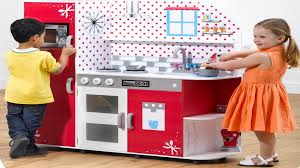 childrens wooden role play kitchen with apple app plum cookie
