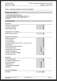 Resume Transferable Skills Examples by Sample Nursing Skills Checklist Bluepipes Blog