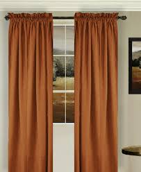 Pumpkin Colored Curtains Decorating Stunning Pumpkin Colored Curtains Designs With Curtains Rust Color
