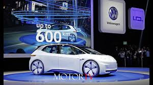 volkswagen concept 2017 2016 paris motor show new volkswagen 2017 e golf and i d concept