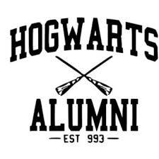 hogwarts alumni bumper sticker best harry potter car decal products on wanelo