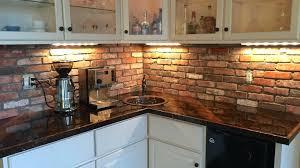 veneer kitchen backsplash faux brick kitchen backsplash thin veneer for extraordinary