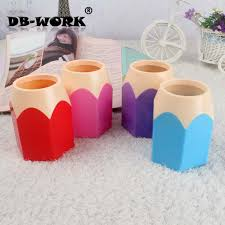 Pencil Vase Aliexpress Com Buy Fashion Pen Holder Candy Color Plastic Pencil