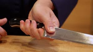 how to use kitchen knives learn how to hold a chef s knife the right way then use your