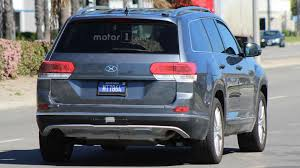 volkswagen crossblue volkswagen crossblue prototype spied in california