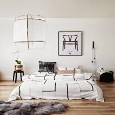 bedroom decor white bedding with color accents plain white
