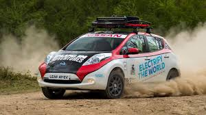 nissan leaf in pakistan nissan leaf at ev to enter mongol rally youtube