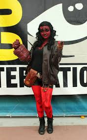 Hellboy Halloween Costume Creative Halloween Costumes Women Popsugar Tech