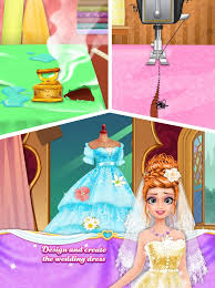 The Wedding Dress Long Hair Princess Wedding Android Apps On Google Play