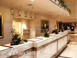 Large Reception Desk Reception Desk In The Hotel Lobby Centrum Lim Warsaw Image
