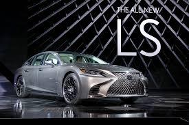 lexus ls 500 f sport lexus debuts new ls 500 in detroit whylexus