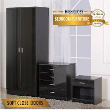 Bedroom Furniture Set Amazon Co Uk Bedroom Wardrobe Sets Home U0026 Kitchen