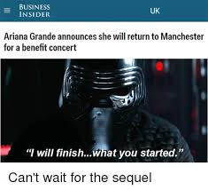 Meme Insider - business uk insider ariana grande announces she will return to