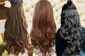hair clip rambut asli grosir hair clip semi human lembut halus murah juragan rambut