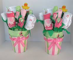 cool baby shower ideas for girls baby bouquets for twin girls