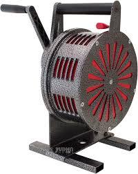 vixen horns vxs1250m heavy duty hand crank alarm air raid siren