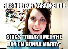 Funny Karaoke Meme - things are getting serious