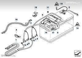 bmw e90 battery battery lead distribution box rear bmw 3 e90 320i n46 bmw