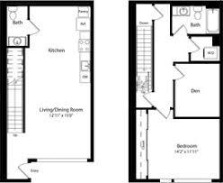 Cascade Floor Plan Cascade Rentals Seattle Wa Apartments Com