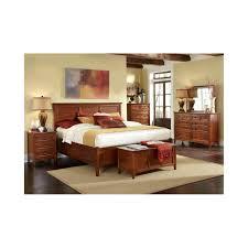 a america westlake solid cherry brown storage bedroom set the
