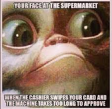 I Need An Adult Meme - your face at the supermarket meme
