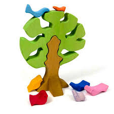tree puzzle colored