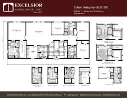 schult manufactured homes floor plans schult integrity 6832 55 excelsior homes west inc