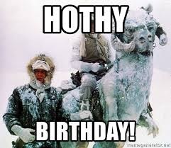 Star Wars Meme Generator - hothy birthday han and luke star wars tauntaun meme generator