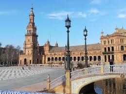 A Place Vue Vue De La Place Picture Of Plaza De Espana Seville Tripadvisor