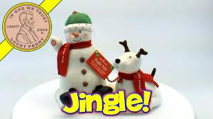 hallmark cards snowman pals musical jingle bells