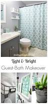 Pinterest Bathroom Decor Ideas Light U0026 Bright Guest Bathroom Makeover The Reveal Small