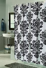target fabric shower curtains plastic curtains brown wooden vanity