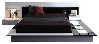 Modern Platform Bed King Platform Bedroom Sets King Myfavoriteheadache