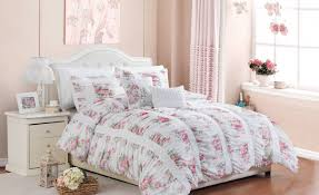 bedding set beguile pink and white king size bedding surprising