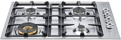 Gas Countertop Range Kitchen Cooktops Bertazzoni Cooktops