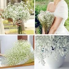 baby s breath bouquet artificial baby s breath gypsophila silk 27 flowers bouquet