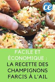 recette cuisine economique facile et économique la recette des chignons farcis à l ail