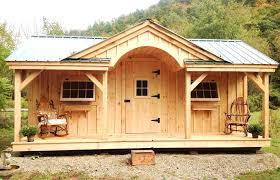 a relaxing and soothing 12x20 granny pod fully assembled in the