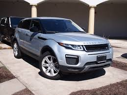 silver range rover evoque certified used 2016 land rover range rover evoque se suv
