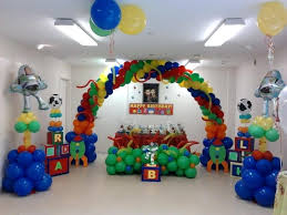how to decorate birthday party at home toy story decoration toy story themed birthday party full of really