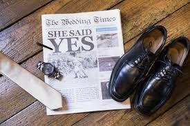 Newspaper Wedding Program Wedding Newspaper Testimonials