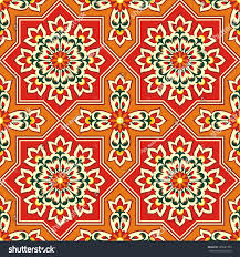 Moorish Design Arabesque Pattern Moorish Style Arab Seamless Stock Vector