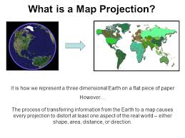 what is a map projection geodesy and map projections ppt