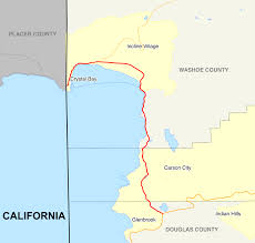 Nevada County Map Nevada State Route 28 Wikipedia