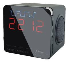 buy online ducasso black boy speaker u0026 fm player with alarm clock