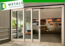 Glass Sliding Patio Doors 3 Panel Sliding Patio Doors Outdoor Goods