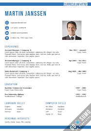 resume templates on word cv template cape town